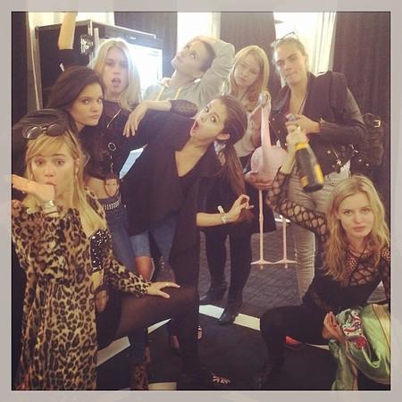 Katy Perry, Suki Waterhouse, Cara Delevingne and Selena Gomez