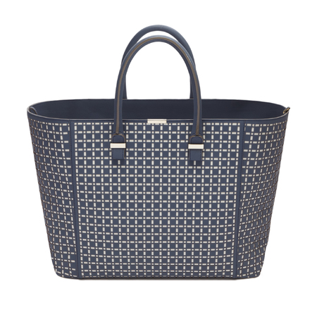 Victoria Beckham's pre autumn handbag collection - navy tote bag - designer handbags - shopping bag - handbag.com