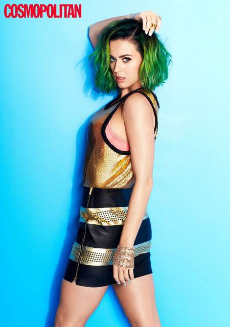 Katy Perry Cosmopolitan cover - magazine cover - katy perry and russell brand - celebrity news - day bag - handbag.com