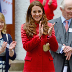 Kate Middleton does Scottish style