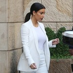 Kim K upstages the bride in white