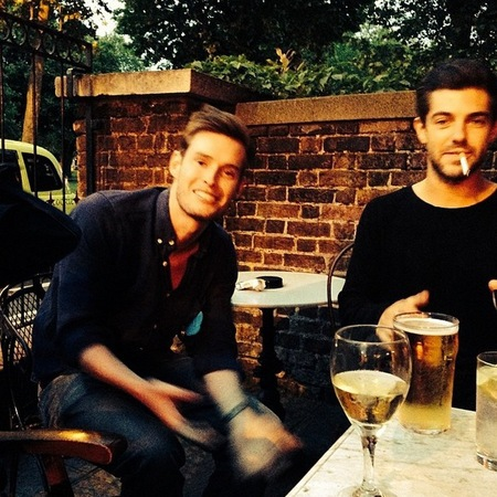 Alex Mytton breaking no drinking rule - partying without binky - tara keeney - handbag.com