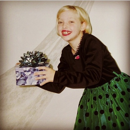Amanda Seyfried - awkward childhood photos - stylish celebrities - baby feature - baby news - handbag.com
