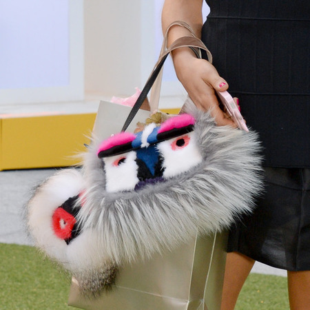 Bip Ling's Fluffy Fendi Bag and Charm