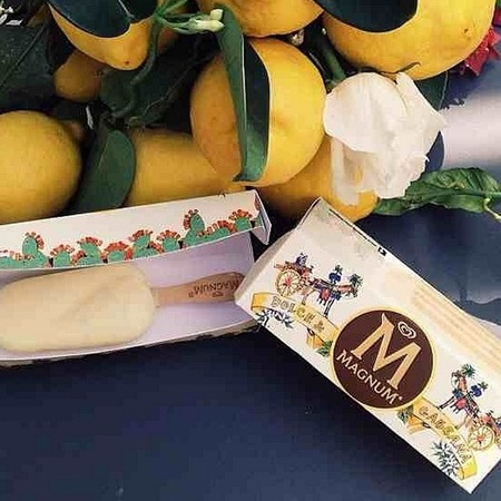 Dolce and Gabbana Magnum Ice cream - Instagram - summer ice cream flavours - designer collaborations - day bag - news - handbag.com