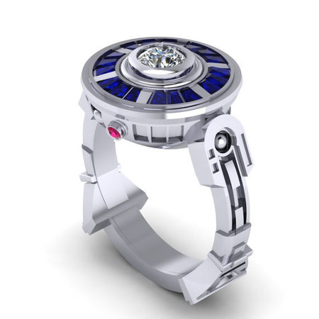 droid ring - what lupita nyongo should wear in the new star wars film - shopping bag - handbag