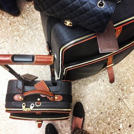 instagram handbag pictures - chanel bag and luggage - furlong fashion - handbag.com