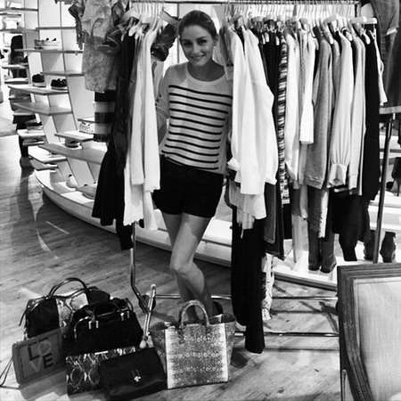 Olivia Palermo's Zac Posen handbags