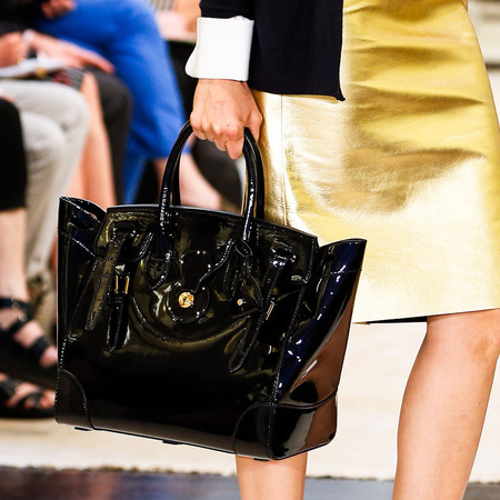ralph lauren-resort 2015 handbags-black bag-designer accessories and handbags-handbag.com