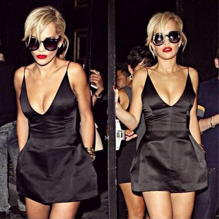 Rita Ora's Dior break-up dress