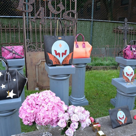 stella mccartney superhero handbags-resort 2015 handbag collection-garden party-handbag.com