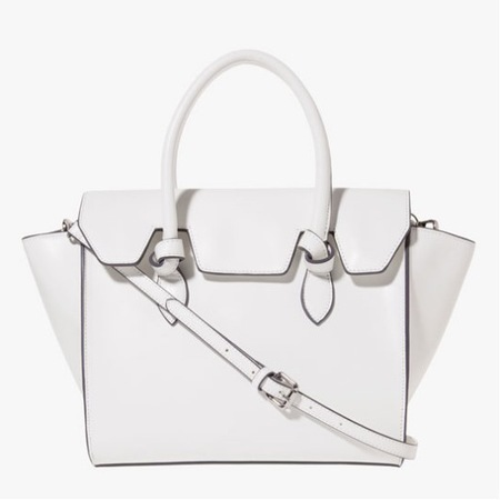 Stradivarius new handbags - Zara sister brand to launch in the UK - cheap handbags - shopping news - white day bag - shopping bag - handbag.com