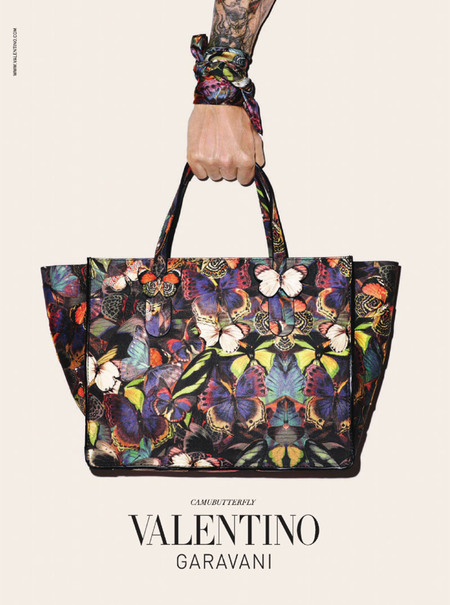 valentino-terry-richardson-fall-2014-campaign - shopping bag - handbag