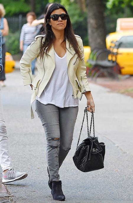 Kourtney Kardashian chanel handbag - designer bags - handbag.com