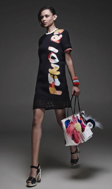 fendi resort collection 2015 - bright sporty printed handbags - Fendi Resort collection 2015 handbags go printed - shopping news - shopping bag - handbag.com