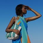 You need this designer beach bag
