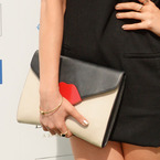 Laura Whitmore wins races with Lulu Guinness