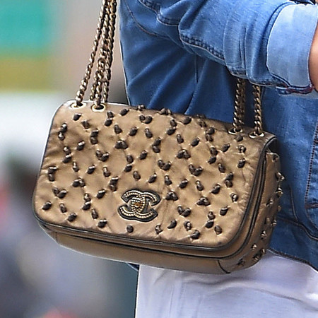 Ashley Green's Chanel bag