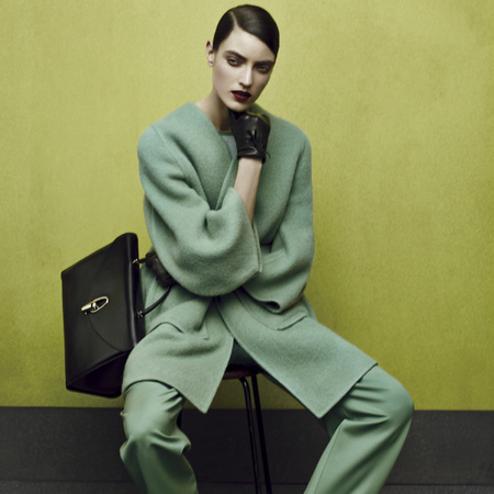 giorgio armani aw14 campaign - Bauletto bag - bag preview - fashion news - shopping bag - handbag.com