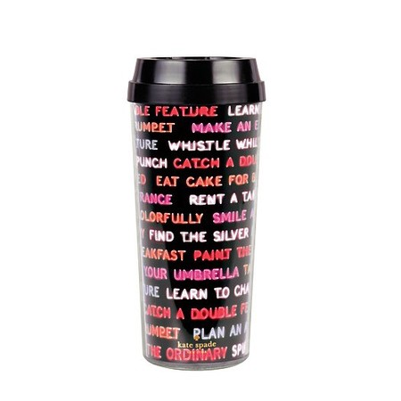 kate spade coffee mug - travel thermal cup - 5 best thermal travel mugs - shopping feature - shopping bag - handbag.com