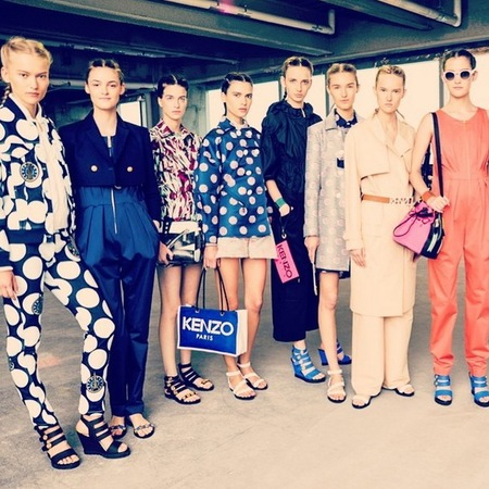 Kenzo resort collection 2015 - new designer handbags - designer fashion news - whole collection - shopping bag news - handbag.com