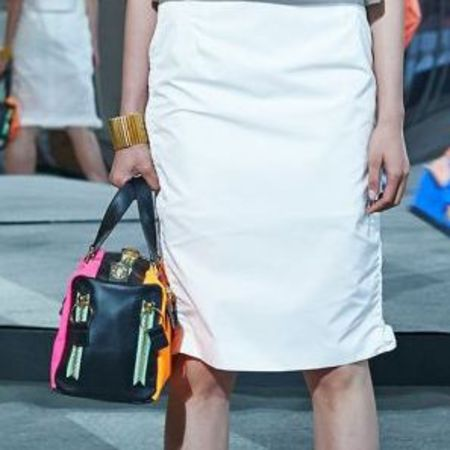 Kenzo resort collection 2015 - new designer handbags - designer fashion news - black and pink bag - shopping bag news - handbag.com