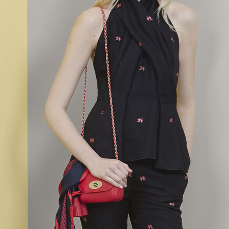 Red Mulberry mini bag