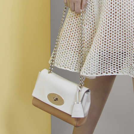 mulberry-spring summer 2014-handbag collection-white lily handbag-handbag.com