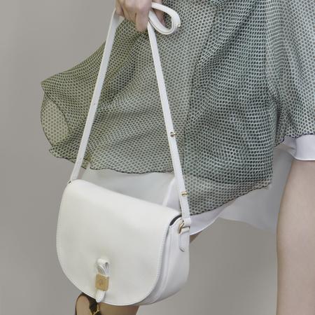 White Mulberry Tessie crossbody bag