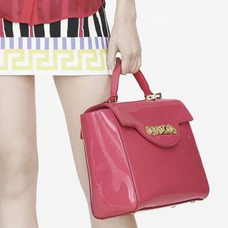 Tosca Buckle Eyelet Style Satchel Handbag