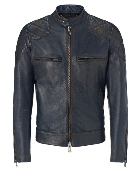 David Beckam for Belstaff collection - David Beckham biker leathers - leather biking jacket - men's fashion - shopping bag news - handbag.com
