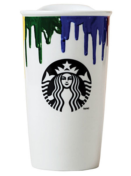 band of outsiders - starbucks cup - 5 best coffee cups - stylish - thermal - travel - shopping feature - shopping bag - handbag.com