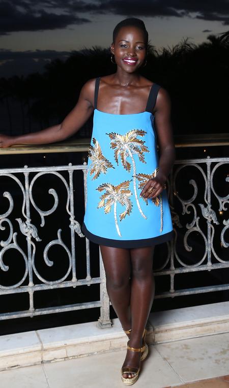 Lupita Nyong'o's holiday style