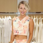 Style out matching prints like Kaley Cuoco