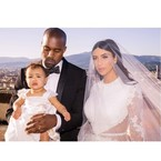 Kim & Kanye's wedding is the boss of Instagram