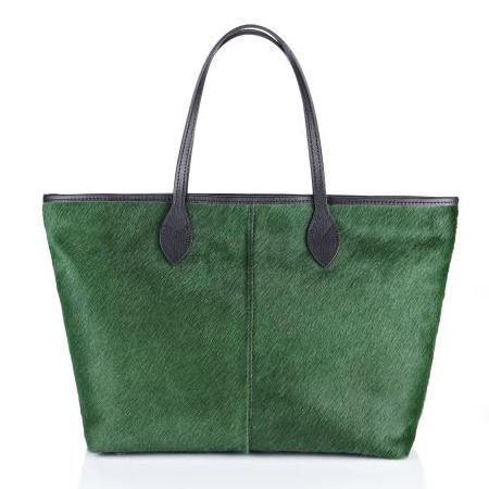 Antler Elspeth Tote in Emerald - best green handbags - shopping bag - handbag