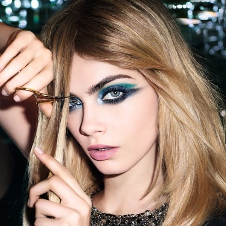 cara delevingne-ysl-makeup-ysleyestyle-eye makeup tutorial-designer makeup trends-handbag.com