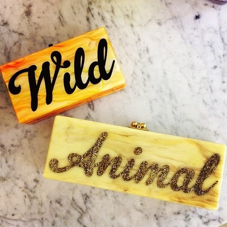 edie parker-slogan clutch bags-wild animal bags-resort 2015 designer collections-handbag.com