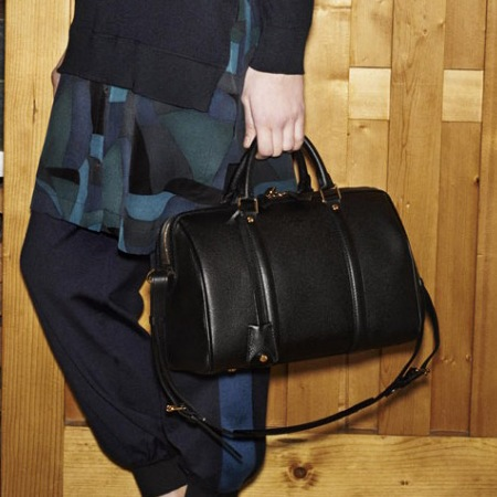 louis vuitton-new handbag-autumn winter 2014-winter icons-black pm sofia coppola bag-handbag.com