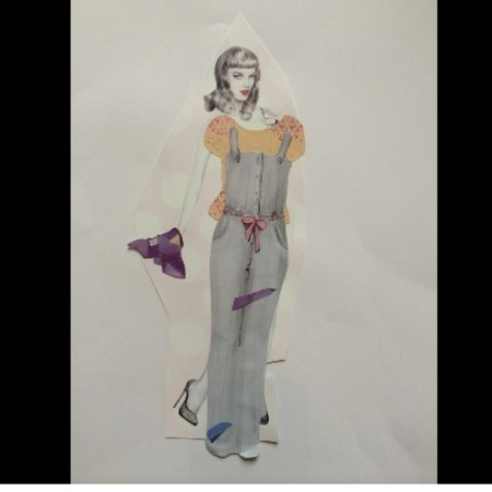 victoria beckham shares Harper Beckham's fashion collage - baby news - baby bag - handbag.com