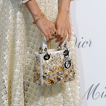 Zhang Ziyi's Miss Dior bag