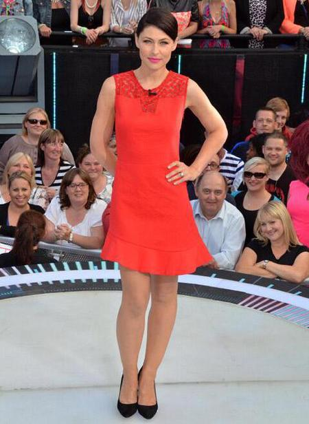 Red dress by Maje