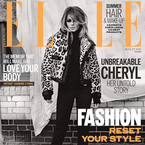 Cheryl Cole takes over Elle UK