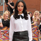 Sarah-Jane Crawford's X Factor red lipstick