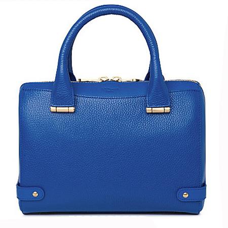 LK Bennett blue rosie bag-rosamund pino-selfridges handbag sale-handbag.com
