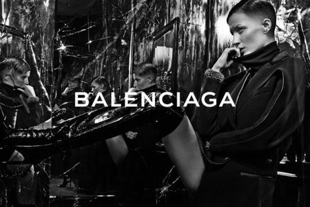 gisele for balenciaga - gisele lands another camoaign - shopping bag - day bag