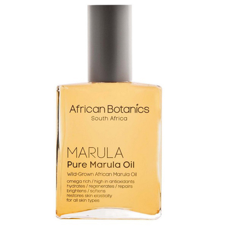 african botanics pure marula oil-beauty products from south africa-holiday and travel inspired skincare ingredients-handbag.com