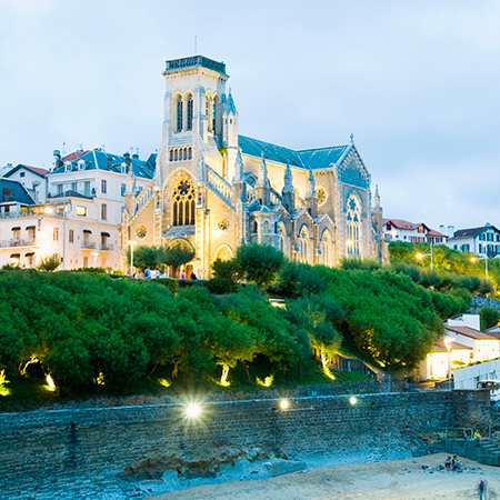 biarritz france - hidden gems - travel bag - handbag