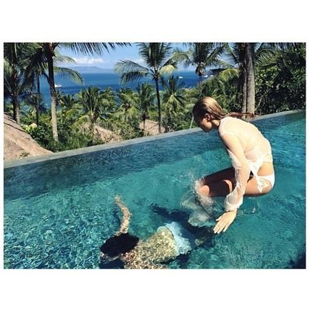 Cara Delevingne in Bali