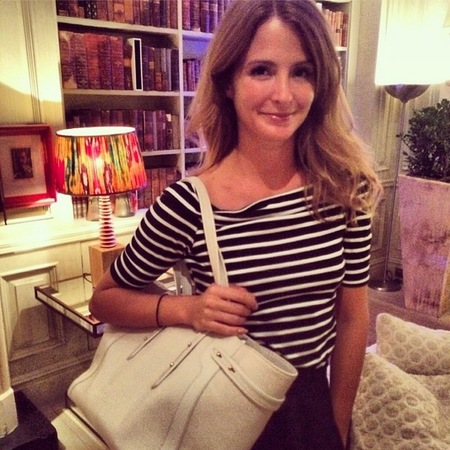 Millie Mackintosh - handbag confessions - aspinals of london bag - handbag.com